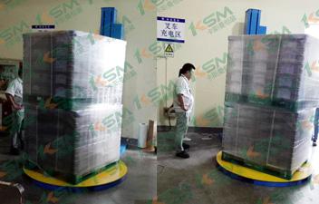 食品行业缠绕包装机案例
