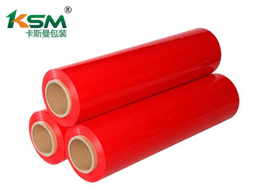 红色缠绕膜